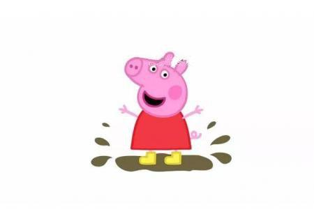 简笔画教程|跳泥坑的小猪佩奇