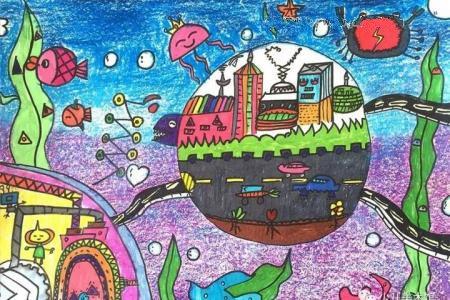 奇妙的海底世界 海底小家