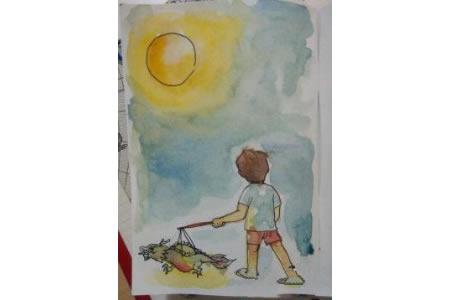 皎洁的明月光中秋节主题画图片展示
