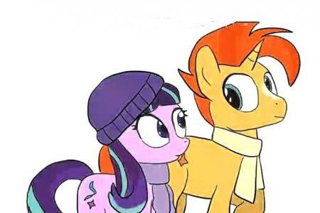 小马宝莉友谊的魔力之小马紫悦与助手穗龙