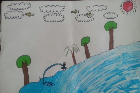 五一劳动节儿童画-我的劳动成果