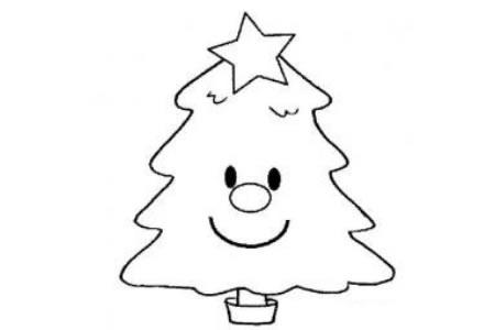 幼儿园简笔画教案 圣诞树制作