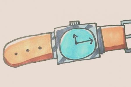 简笔画之手表