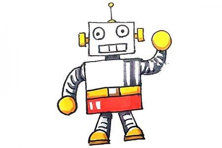 学画机器人