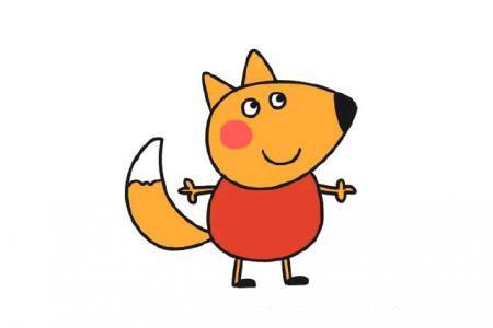 小猪佩奇的伙伴——狐狸弗雷迪