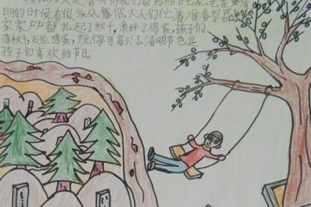 清明节记事关于清明节绘画作品分享