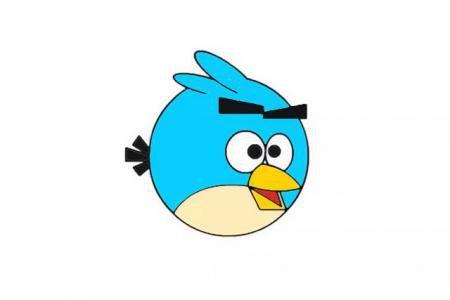 愤怒的小鸟怎么画