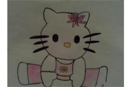 儿童漫画 功夫kitty