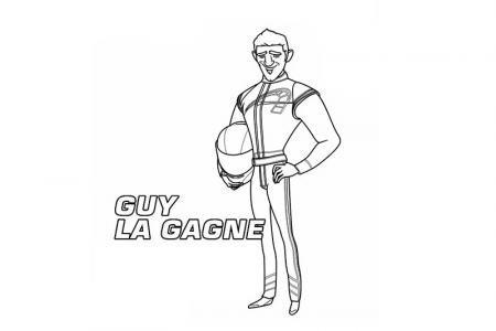 极速蜗牛中的盖「Guy Gagné」