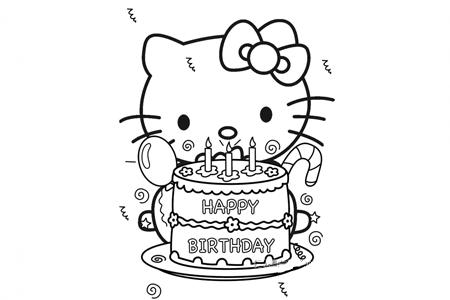 kitty猫过生日