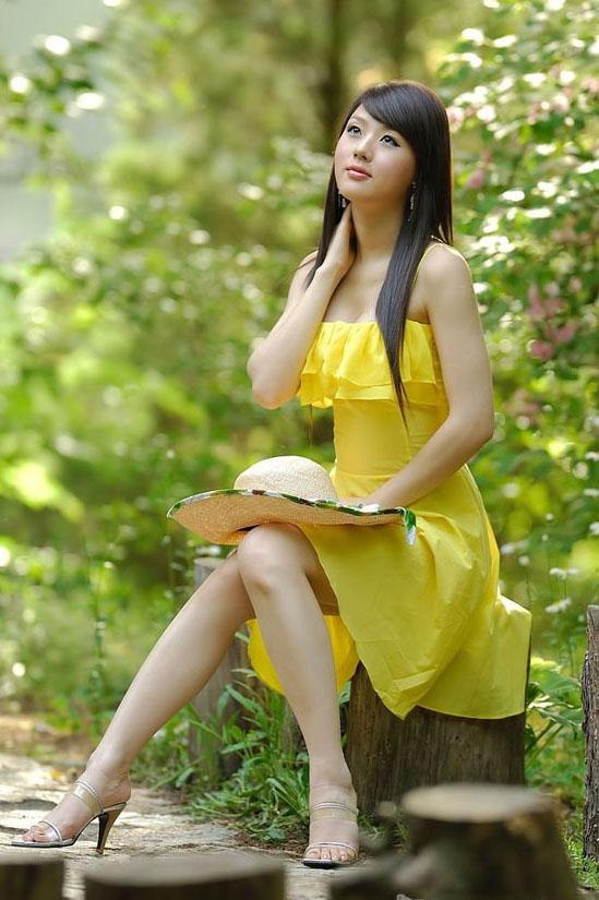 美女黄美姬高清清纯写真
