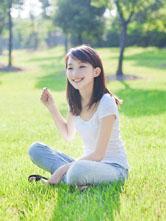 小清新笑容灿烂夏过