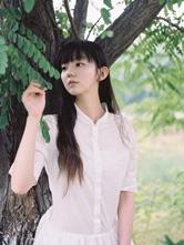 小清新淡雅清香純白色