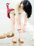 清爽MM海边青春活力图片