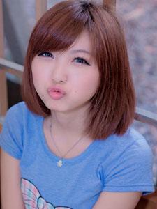 短发MM小猪小清新写真