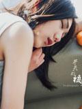 娇媚小MM唯美私房:冬天的橘子