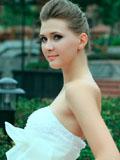 超美俄罗斯美女唯美婚纱写真