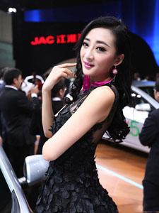 2014北京车展高清绝代芳华的模特组图第3季