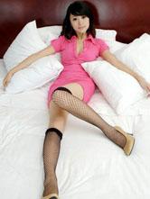 性感嫩模婷婷室内丝袜写真