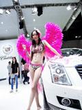 红粉天使性感美丽车模