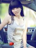 青涩女孩最正车模