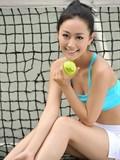 写真续激情世界杯的盛夏之网球宝贝李若斯美女