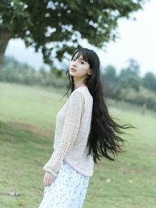韩范萌妹子清新唯美写真