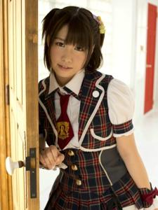 肉肉的女孩日式居家写真
