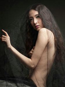 性感黑纱美女摄影写真