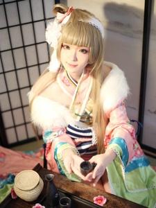 lovelive南小鸟cosplay唯美贺新春