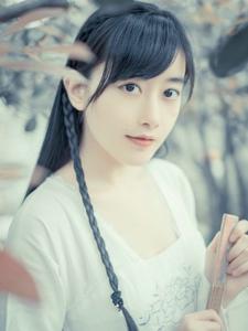 古典美女日系清新唯美写真
