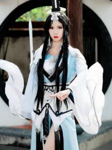 剑网3古风御姐纯阳成女同人Cosplay