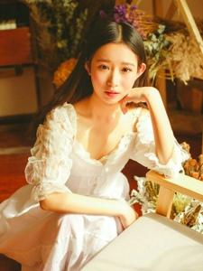 清纯小仙女私房淑女文静温柔写真