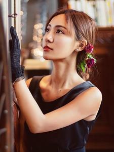 气质轻熟女古典复古风优雅迷人