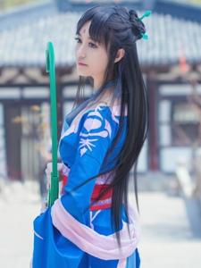 仙剑奇侠传四古装美女姨姐柳梦璃cos