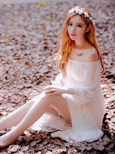 梦幻少女丛林意境写真唯美自然
