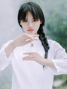 马尾古风少女功夫意境写真弘扬中国文化