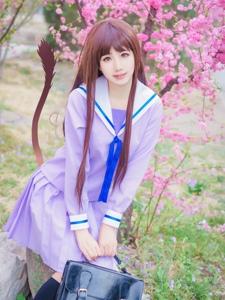 纯情少女野良神壹歧日和甜美可爱cosplay