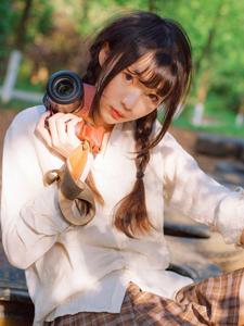摄影美女气质户外写真魅力无限