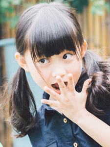 可爱童星小葡萄日系动感写真
