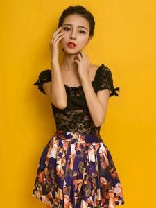 時尚模特HONEYAL養眼冷艷美麗動人