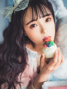 可愛公主私房蛋糕清新寫真浪漫唯美