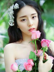 花一样的女子丛林意境唯美写真纯美可人
