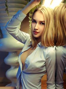 乌克兰女神anna性感半裸人体艺术写真