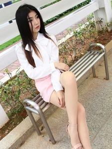 性感气质白领Winki丝姬丝袜写真