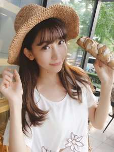 清纯美女陈潇可爱日系写真宛如邻家女孩