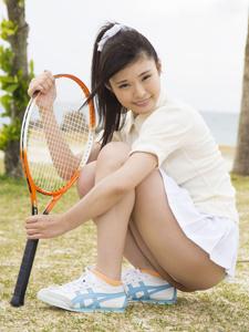 清纯日本妹子棒球写真性感可人
