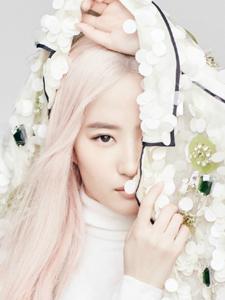 刘亦菲二次元扮相仙气充盈一头粉发