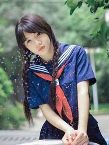 可爱学生妹制服校园清纯写真
