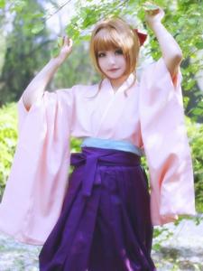 魔卡少女樱日本和服软妹子木之本樱